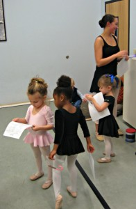 gifted children, ballet lessons