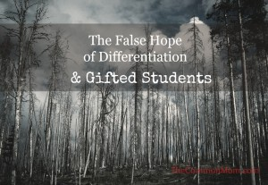 Differentation for gifted students offers false hope