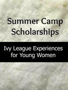 summer camp, scholarships