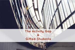 Activity gap and gifted children