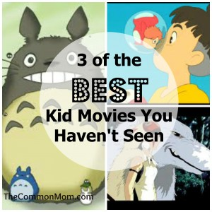 Best miyazaki kid movies