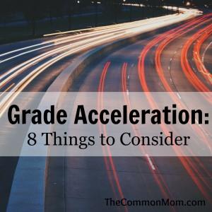 Grade Acceleration