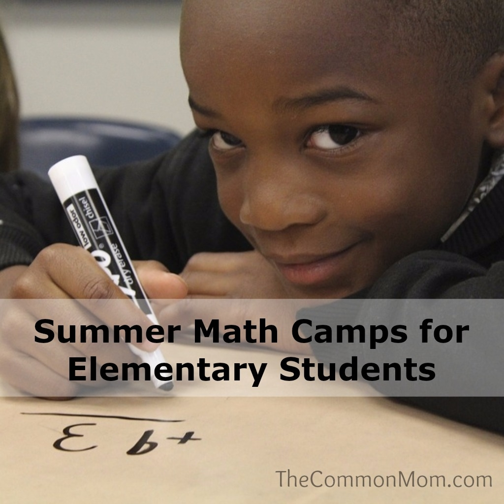 Summer Math Camps for Younger Kids